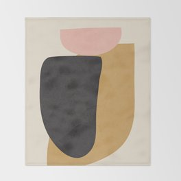 Abstract Shapes 34 Throw Blanket