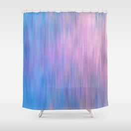 Pink Invader Shower Curtain