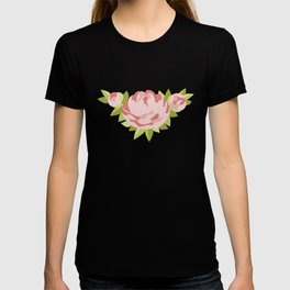 Peonies & Polka Dots T-shirt