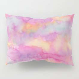 watercolor wash Pillow Sham