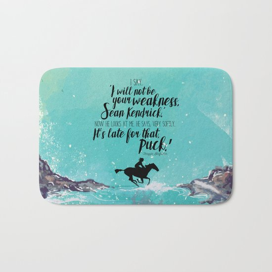 The Scorpio Races - Weakness design Bath Mat