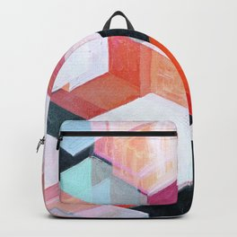 White Paint and Some Colors Backpack