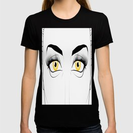 Woman with Golden Eyes T-shirt