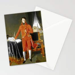"""Jean-Auguste-Dominique Ingres """"Napoleon Bonaparte in the Uniform of the First Consul"""" Stationery Cards"""