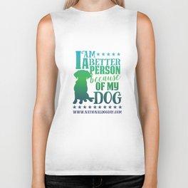 Dog Person Biker Tank