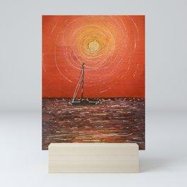 Miami Sunset Mini Art Print