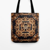 givenchy Tote Bags featuring Fancy Givenchy by Goldflakes