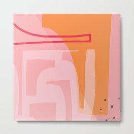 Abstract Design 2 Metal Print