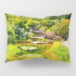 The Tea Garden Pillow Sham