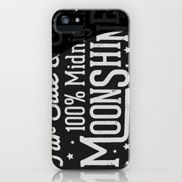 Midnight Moonshine iPhone Case