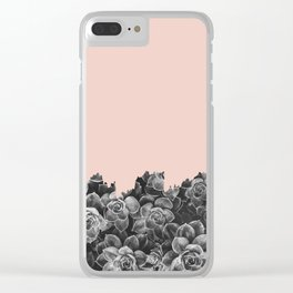 Plant collage XIV Clear iPhone Case