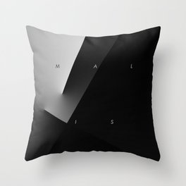 History of Art in Black and White. Minimalism Throw Pillow