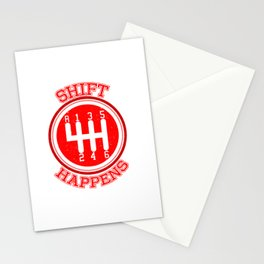 Shift Happens Stationery Cards