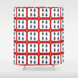 Flag of montreal -montrealais,montrealer,montreales,quebec, canada. Shower Curtain