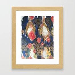 Peace of Poppies Framed Art Print