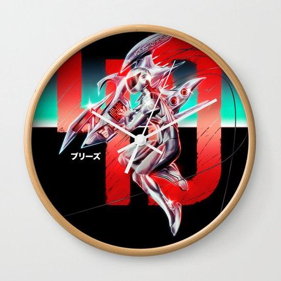 4-D Wall Clock