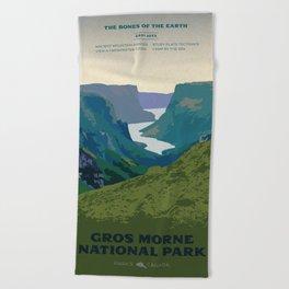 Gros Morne Beach Towel