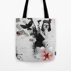 Lolly Crow Tote Bag