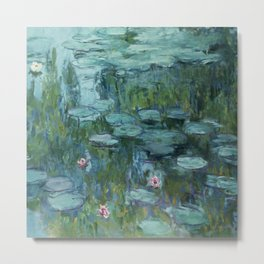 "Claude Monet ""Water Lilies"" (8)(1915) Metal Print"