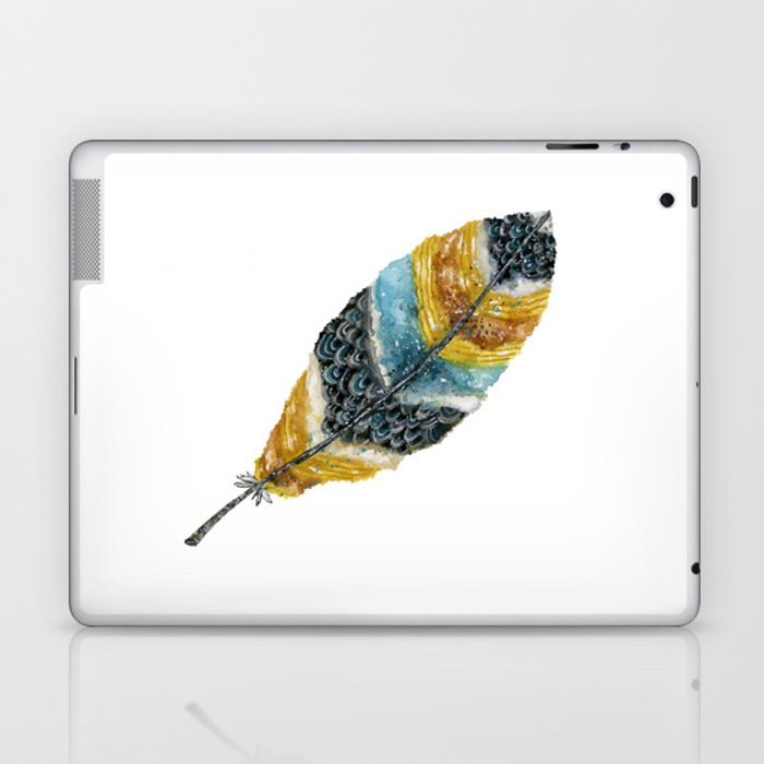 Starlight Feather Laptop & iPad Skin