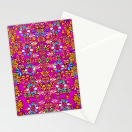 lianas of excotic in florals decorative tropical paradise style Stationery Cards
