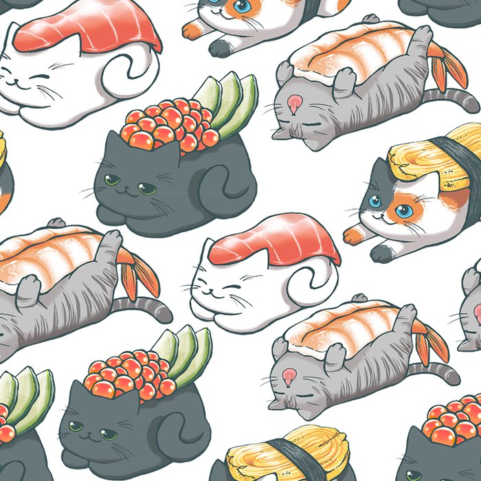 Sushi Cats Leggings