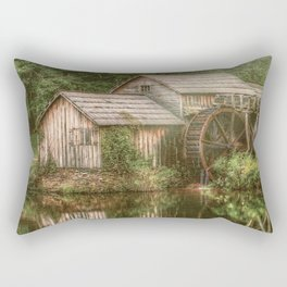 Mill on The Blue Ridge  Rectangular Pillow