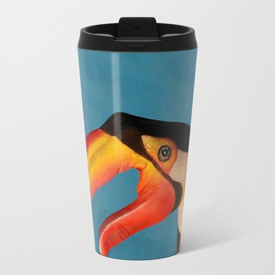 Parrot Metal Travel Mug