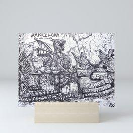 Parc de la Ciutadella Mini Art Print