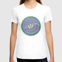 buzz lightyear T-shirts featuring pixar disney toy story. buzz lightyear flight school  by studiomarshallarts