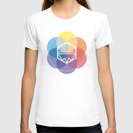 Color kaleidoskop T-shirt