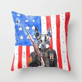 Sarge Throw Pillow