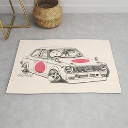 Crazy Car Art 0168 Rug