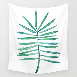 Long Palm frond Wall Tapestry