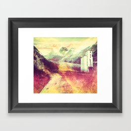 The Moment's Passed Framed Art Print