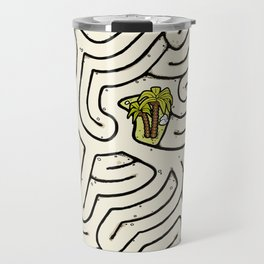 Pirate Treasure Maze Travel Mug