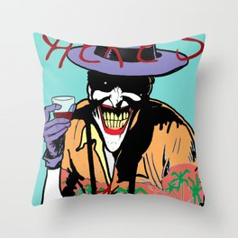 killing joker quote Throw Pillow