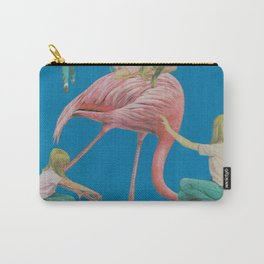 FLAMINGO GIRLS Carry-All Pouch