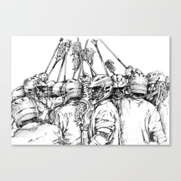 Game Time (The Art of Lax™) Canvas Print