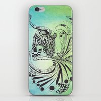 pisces iPhone & iPod Skins featuring Pisces by Heaven7