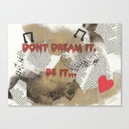 Rocky Horror - Don't Dream It... Canvas Print