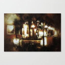 A Night in Seville Canvas Print