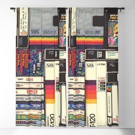 Cassettes, VHS & Games Blackout Curtain