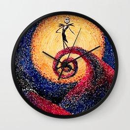 The Pumpkin King Wall Clock