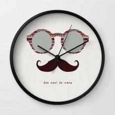 je m'en fous #2 Wall Clock
