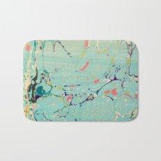 Abstract Painting ; Lagoon Bath Mat