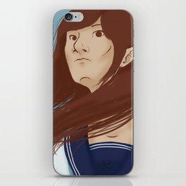 Serafuku Girl iPhone Skin