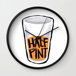 Half Pint Wall Clock