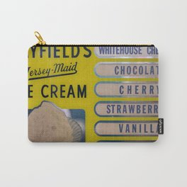 Vintage Ice Cream Sign 1 Carry-All Pouch