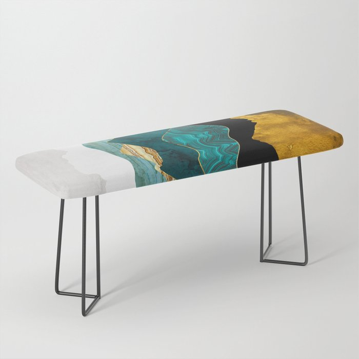 Turquoise Vista Bench